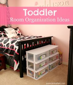 Toddler Room Organization Ideas The one place that can drive you crazy! Check out these Toddler Room Organization ideas that can help you keep your sanity. The post Toddler Room Organization Ideas appeared first on Toddlers Diy. Toddler Room Organization, Small Space Organization, Toy Organization, Bedroom Organization, Organizing Toddler Rooms, Organizing Ideas, Toddler Bedroom Sets, Girls Bedroom, Bedroom Decor