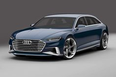 Audi Prologue Avant concept Audi will launch a station wagon version of its Prologue concept car at the Geneva auto show.