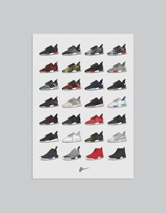 Originally created illustration, adidas NMD Collection Print The ideal for the home or office, ideal for sneakerheads. Details • Unframed • Sizes:...