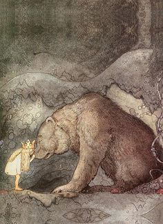 In love, Libra often means well, but may mislead others by what is unsaid. (thedailyastro.com) (Art: John Bauer)