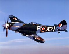 ww2 fighter planes | Dover (1942) featured an image of a Spitfire, a British fighter plane ...