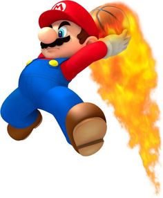 Mario Sports Mix (Wii) Artwork including Balls & Equipment + Characters and supporting artwork Super Mario Bros, Mundo Super Mario, Super Mario Brothers, Super Smash Bros, Mario E Luigi, Mario Kart, Mario Party Games, Sports Mix, Mundo Dos Games
