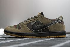 A New Camo Colorway Of The Nike SB Dunk Low Just Released