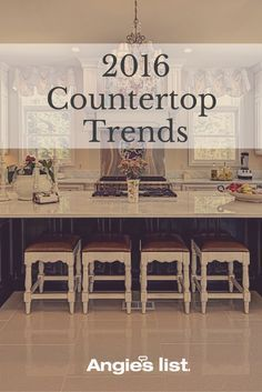 Counter trends for your 2016 kitchen remodel Condo Kitchen, Kitchen  Flooring, Kitchen Countertops, e1e8df11bf5