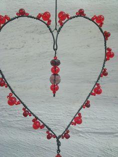 Wire Ornaments, Beads And Wire, Wire Art, Suncatchers, Jewelry, Jewlery, Jewerly, Schmuck, Jewels