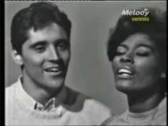 """Dionne Warwick & Sacha Distel  """"The Girl From Ipanema"""" (1964) from Sascha Distel's French television variety show"""