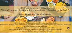 Wir sind stolzer Teil der Minderheit! Gutes Essen und Trinken spielen für uns eine wichtige Rolle. KernGesund steht auf gesunde #Ernährung, leckere und einfache Rezepte, regionale und saisonale Lebensmittel und gemeinsames Kochen und Essen. http://www.kerngesund-foodrevolution.de/rezeptbox/ #kerngesund #essen #rezepte #ernährung #gesund