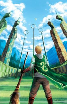 Harry Potter Quidditch Print – Gryffindor 11 x 17 inches. Gloss Printed on Carolina 12 pt. Harry Potter Quidditch, Fanart Harry Potter, Carte Harry Potter, Images Harry Potter, Arte Do Harry Potter, Theme Harry Potter, Harry Potter Cosplay, Harry Potter Cast, Harry Potter Wallpaper