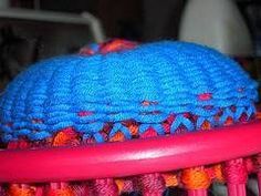 How to Knit a Bag on a Loom ♥LLKM♥ with pattern