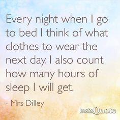 Bedtime quote