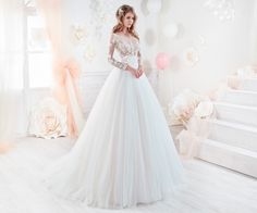 Moda sposa 2018 - Collezione COLET. COAB18232. Abito da sposa Nicole.
