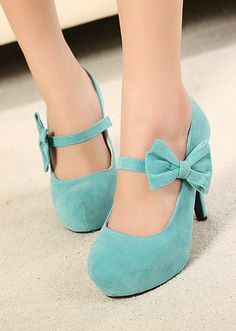 Bow Thin High Heels Shoes