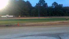 . Go Kart Racing, Baseball Field