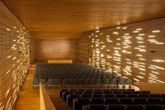 riaño arquitectos - SALON DE ACTOS - [ see Maxxi / Hadid - Rome... ]