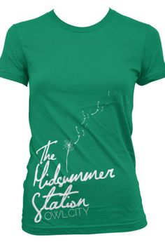 There's a shirt I love pretty similar to this that Adam's only selling on tour right now.
