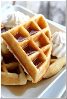 Perfect Holiday Belgian Waffles  | Doughmesstic