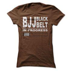 BJJ Black Belt In Progress Tees!