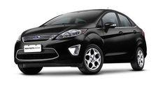 New Fiesta Sedan - Grade dianteira dominante e frente imponente