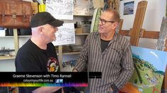 Colour in Your Life featured artist Timo Rannali appeared on Colour In Your Life Season Eleven See his online episode here. Eleven 11, Art Tutorials, Art Lessons, Tv Shows, Movie, Artists, Colour, Videos, Painting