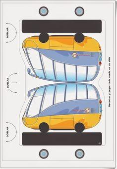 Recortables de Educación Vial, de la Dirección General de Tráfico de España, en varias páginas con bonitas imágenes para los más pequeños para recortar y componer una escena. Paper Toys, Paper Crafts, Lego, Kids, Fictional Characters, Kid Stuff, Traffic Sign, Batman Mask, Social Environment