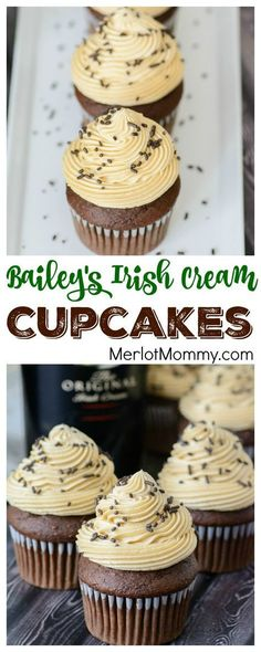 Bailey''s Irish Cream Cupcakes