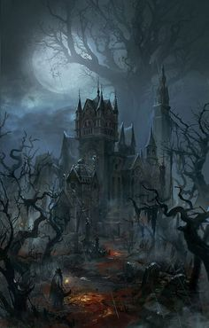 A gothic halloween dark fantasy art, fantasy rpg, fantasy world, fantasy artwork, Dark Fantasy Art, Fantasy Artwork, Fantasy Kunst, Dark Art, Fantasy Rpg, Final Fantasy, Dark Gothic Art, Gothic Artwork, Gothic Wallpaper