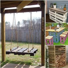 How to DIY 17 Coolest Pallet Projects For The Garden | www.FabArtDIY.com LIKE Us on Facebook ==> https://www.facebook.com/FabArtDIY