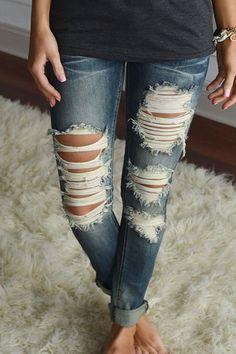 Bottom - Caroline Wash Denim Jeans