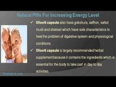 This video describe about the best natural pills for increasing energy level. You can find more detail about Sfoorti Capsules at http://www.dharmanis.com