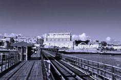 Southend on Sea Pier Essex England b/w photograph picture poster art print photo #southend #pier #essex #art #picoftheday