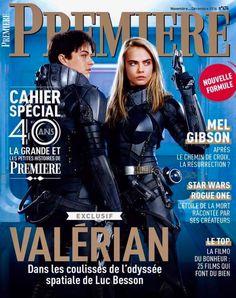Dans son dernier numéro de 2016, #Premiere vous emmène dans les coulisses de #Valerian de #LucBesson!