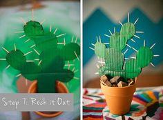 DIY Cactus via- Meg Ruth