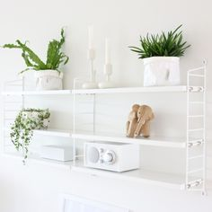 The iconic String® pocket is String Furniture's smallest shelving system – a small bookcase that will fit almost anywhere. The shelving system is easy Decor, Small Bookcase, Furniture, Bookshelf Decor, Shelves, Interior, Shelving, Home Decor, Room Decor
