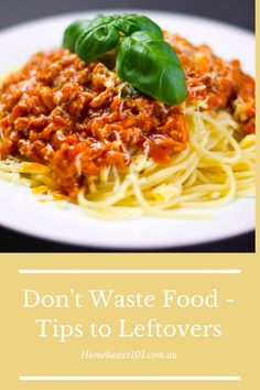 Reduce food wastage and save yourself money on your budget with these simple ideas to use up those left-overs Pasta Recipes, Dinner Recipes, Pasta Meals, Keto Recipes, Keto Recipe Book, Cheap Easy Meals, Easy Dinners, Frugal Meals, Dinner This Week
