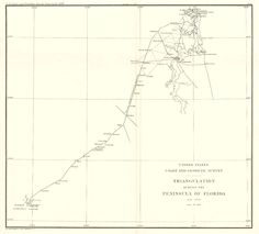 Map Antique Marquesas Keys Florida From Thirteenth Annual Report - Us coast and geodetic survey maps