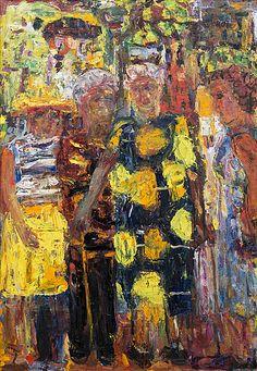 Rafael Wardi Classical Art, Art Forms, Painting Portraits, Paintings, Oil On Canvas, Art Station, Auction, Artwork, Artists