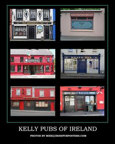 Family Name Pub Posters - Click image above to purchase poster. $20