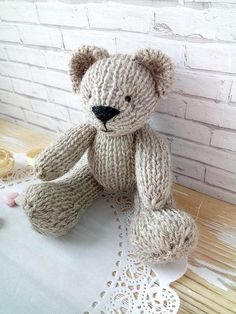 Check out this item in my Etsy shop https://www.etsy.com/listing/564908761/newborn-props-toy-teddy-bear-knitted