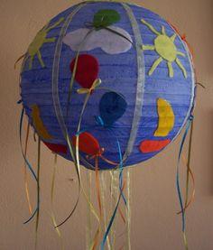 φωτιστικό οροφής μπαλόνια 40 εκ Painting, Painting Art, Paintings, Painted Canvas, Drawings