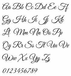 Handlettering Alphabet by Rob Leuschke - Elegant Flowing Script Calligraphy Fonts Alphabet, Hand Lettering Alphabet, Script Lettering, Lettering Styles, Script Alphabet, Penmanship, Wedding Calligraphy, Script Typeface, Capital Letters Calligraphy