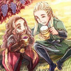 With Gimli
