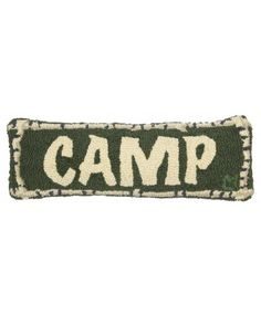 Camp Pillow, 8x24 Inch - Pillows - Home Decor & Accents