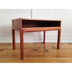 Midcentury Danish Teak Low Hall Chest / Occasional Table by Aksel Kjersgaard