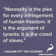 William Pitt the Younger quote
