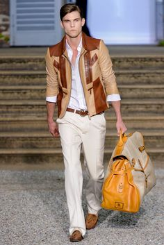 Roberto Cavalli | Spring 2012 Menswear Collection | Pete Bolton