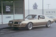 Remember The Rockford Files? This is the 1974 Pontiac Firebird Esprit driven by P.I. Jim Rockford.
