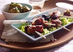 Unser beliebtes Rezept für Bacon-Tapas zu Meersalzkartoffeln und mehr als 55.000 weitere kostenlose Rezepte auf LECKER.de.