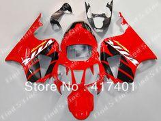 free shipping red black fairings for HONDA VTR 1000 SP1 RC51 VTR 1000 R 1000R RVT1000 ABS fairing kit #Affiliate