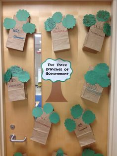 The 3 Branches of Government -  Adapt - make each branch fitting in a pocket, to slide out with the explanation of how it relates to our town, province. . . .