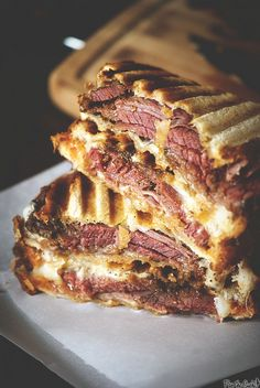 pastrami grilled cheese sandwich.
